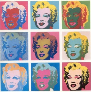 Andy Warhol, Marilyn, sérigraphie sur toile, 1975