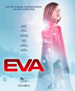 Cartel de Eva de Kike Maíllo (Escándalo films & Ran entertainment)