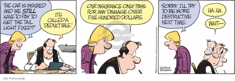 Deductible-Car-Insurance-Cartoon