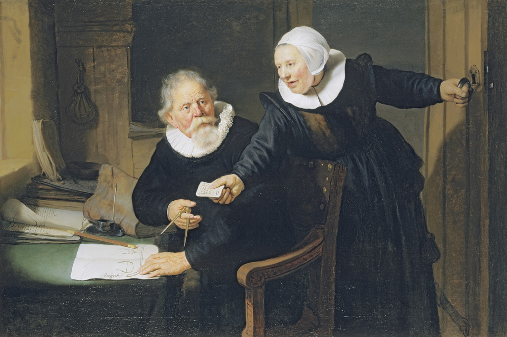 The Shipbuilder and his Wife (Jan Rikcjsen and Griet Jans)