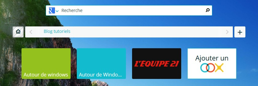 Openoox page d'acceuil