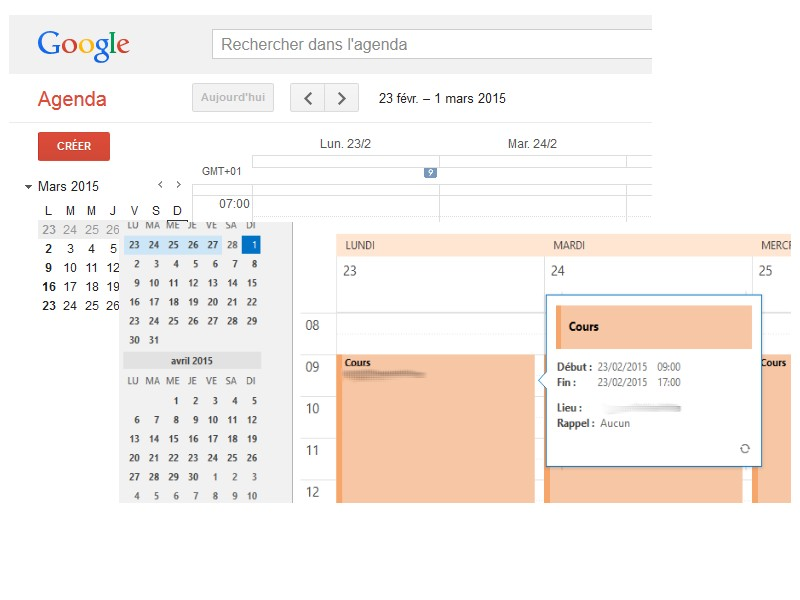 Comment synchroniser son agenda Google Calendar dans Outlook2