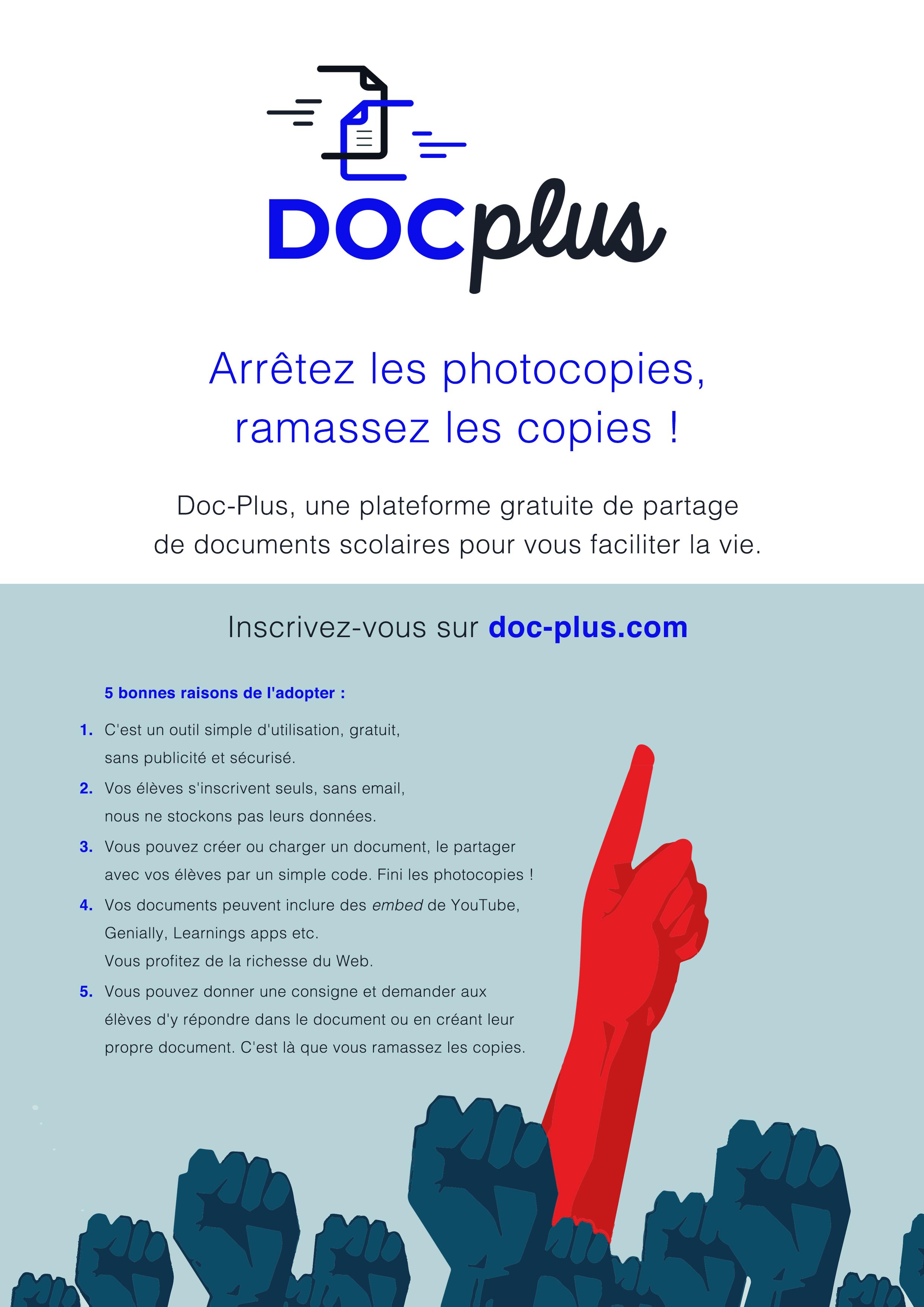 Affiche Doc-Plus