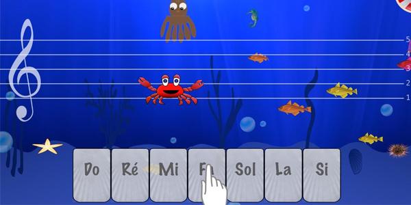music-crab