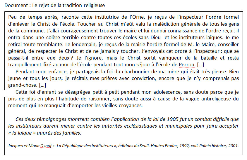 rejet tradition religieuse_ozouf