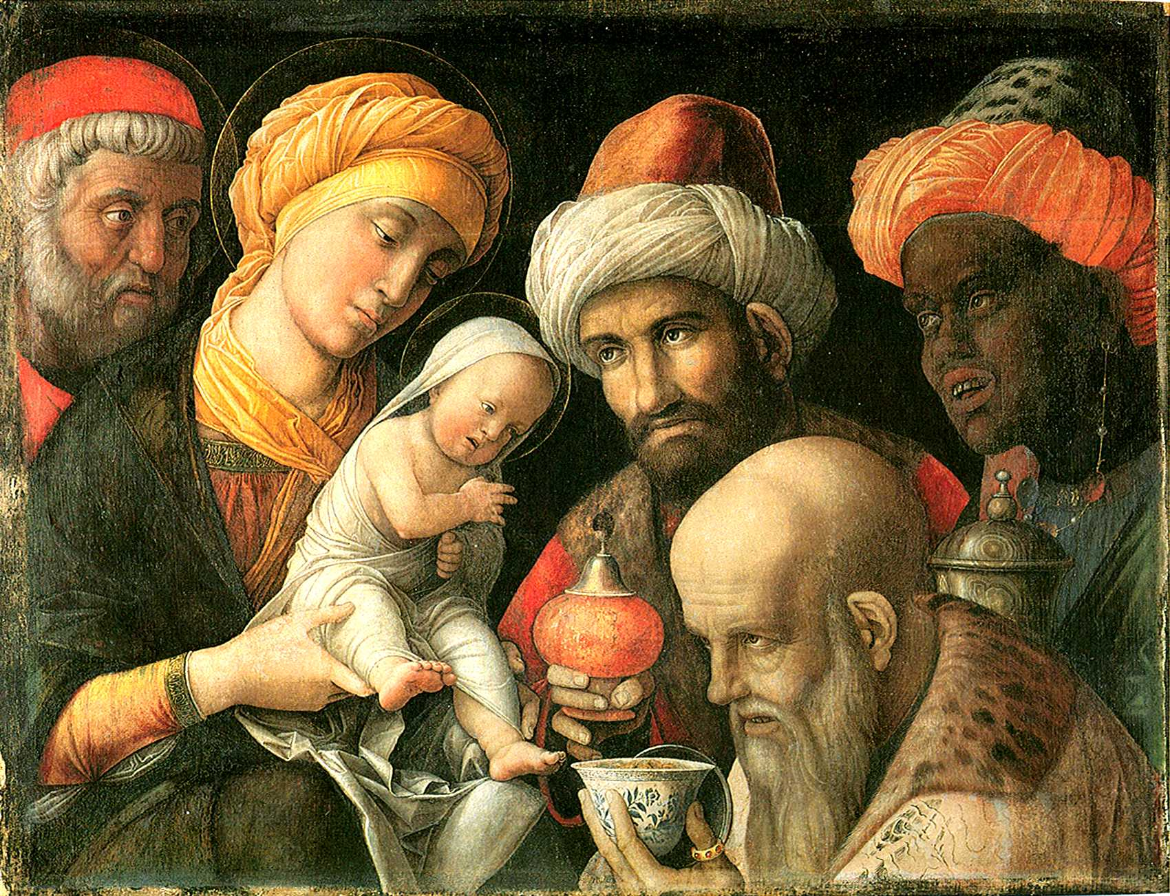 Mantegna (Padoue 1431 - Mantoue 1506), Los Angeles, Paul Getty museum