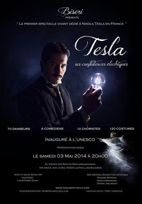 Tesla spectacle