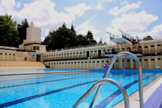 En troisi me for Art deco piscine