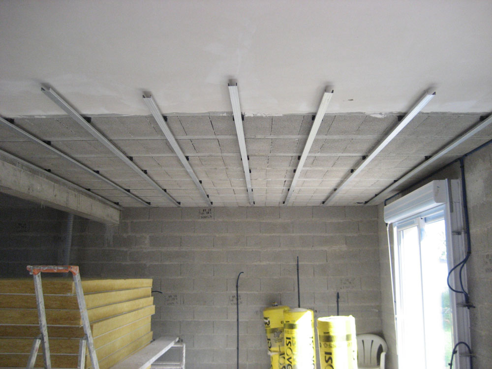Faire un faux plafond for Faire faux plafond ba13