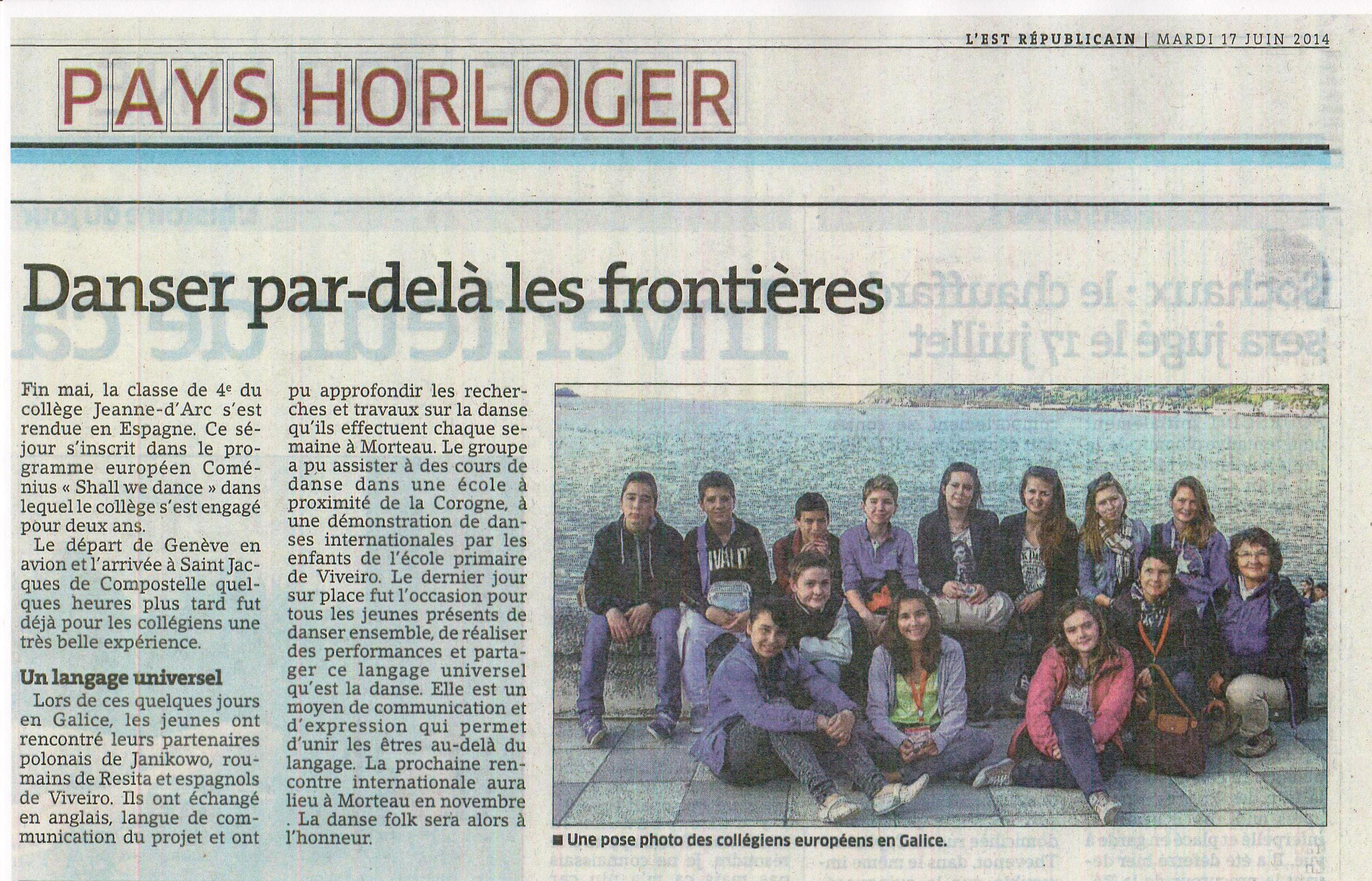 article Espagne journal 001