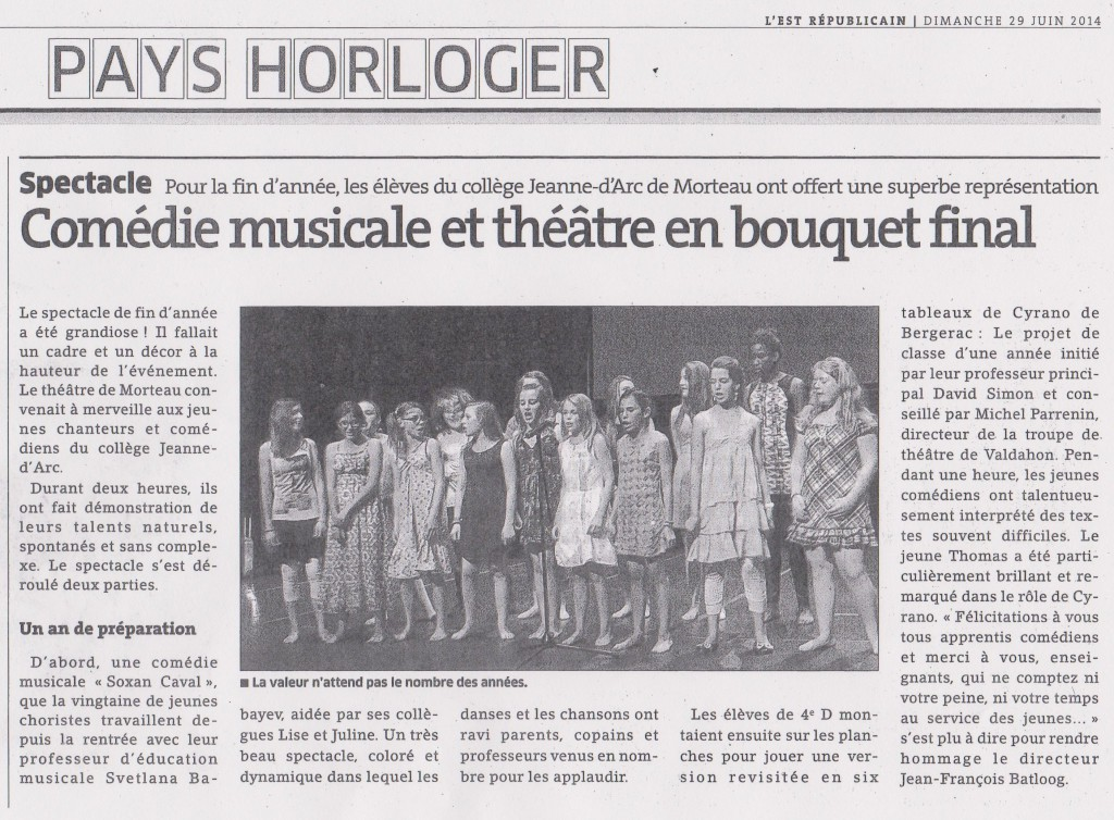 COMEDIE MUSICALE 001