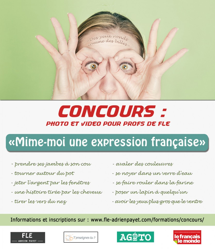 Affiche concours Mime moi