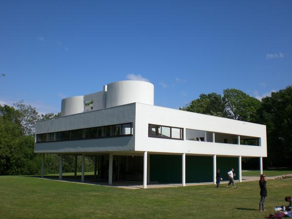 Villa savoye poissy architecte le corbusier 1928 1931 for Poissy le corbusier