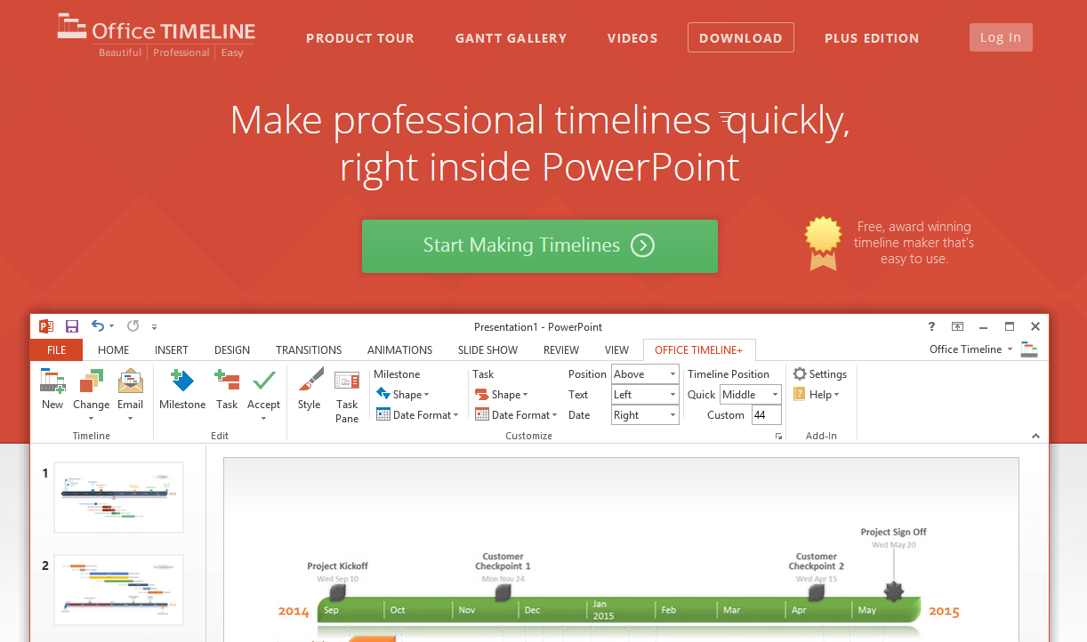 Free timeline makers that save you hours of work