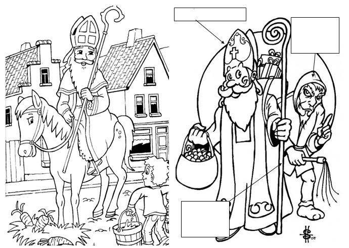 Coloriage saint nicolas blog de monsieur mathieu gs cp - Coloriage de saint nicolas ...